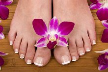 Further Info / Items Tested. Library Image: Feet with Flower